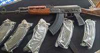 5 BRAND NEW 30 RD AK-47 ZASTAVA BOLT HOLD OPEN MAGAZINES 7.62X39 IN PACKAGE