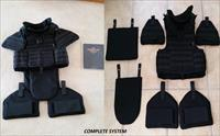 Brand New Ultra Light SWAT Body Armor System (M-L) NIJ III-A w/ Thigh Protectors