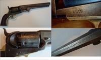 Colt 1851 Navy Martially Marked .36 Cal