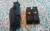 SAFARILAND 6360 ALS/MLS TRIPPLE RETENTION HOLSTER AND MAG POUCH