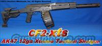 CF2-XTS AK47 12 GAUGE XTREME TACTICAL SHOTGUN! ACCEPTS SAIGA 12 DRUMS+CUSTOM BARREL SHROUD / MUZZLE BREAK+GL-SHOCK RECOIL ABSORBING STOCK+GUN-KOTE+10RD STICK MAG+12RD DRUM+20RD DRUM+SLING+VERTICAL GRIP+MORE!