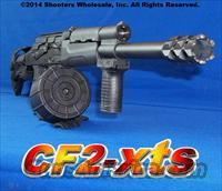 CF2-XTS AK47 12 GAUGE XTREME TACTICAL SHOTGUN! ACCEPTS SAIGA MAGS & DRUMS + COMPACT-BARREL LENGTH WITH MUZZLE BREAK JUST 18¼ INCHES + GL-SHOCK RECOIL ABSORBING STOCK+GUN-KOTE+12 ROUND DRUM+10 ROUND MAG