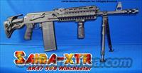 SAIGA XTR AK47 308 WINCHESTER! PROFESSIONAL CONVERSION+CUSTOM FLUTED BARREL+GUN-KOTE+THREADED MUZZLE+GL SHOCK RECOIL ABSORBING STOCK+ALUMINUM QUADRAIL+TWO 24RD MAGS+10RD & 8RD MAGS+BIPOD+SINGLE POINT SLING+MORE!
