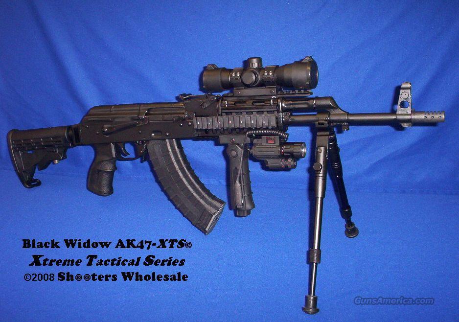 BLACK WIDOW AK47-XTS© EXTREME TACTICAL! TACTEDGE 7