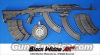 BLACK WIDOW AK47 TACTICAL RIFLE-CUSTOM BUILT IN THE USA!