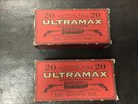 Ultramax 45-70 round nose flat point 405 grain