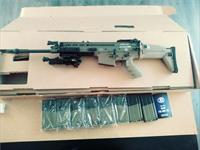 FN SCAR 17S FDE 7.62x51 with Upgrades and 8 mags