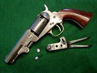 CIVIL WAR MANHATTAN 36 CAL. NAVY REVOLVER, SERIES III WITH MOLD AND REF. BOOK