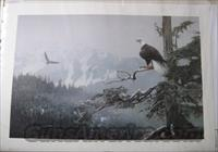 "Terry Isaac's ""On Eagles Wings"" artists proof"