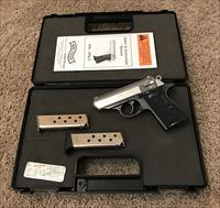 "Walther PPK/S Distributed by Smith & Wesson 380 ACP Auto 3.5"" 7 Rds 2 Mags Two Tone"