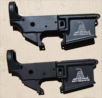 AR15 Lower Receivers Consecutive Numbers Logo Don't Tread on Me