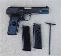 Yugoslavian Md57 Tokarev Pistol Cold War Two Mags.