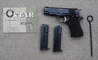 Star BM Pistol 9m/m Military and Police