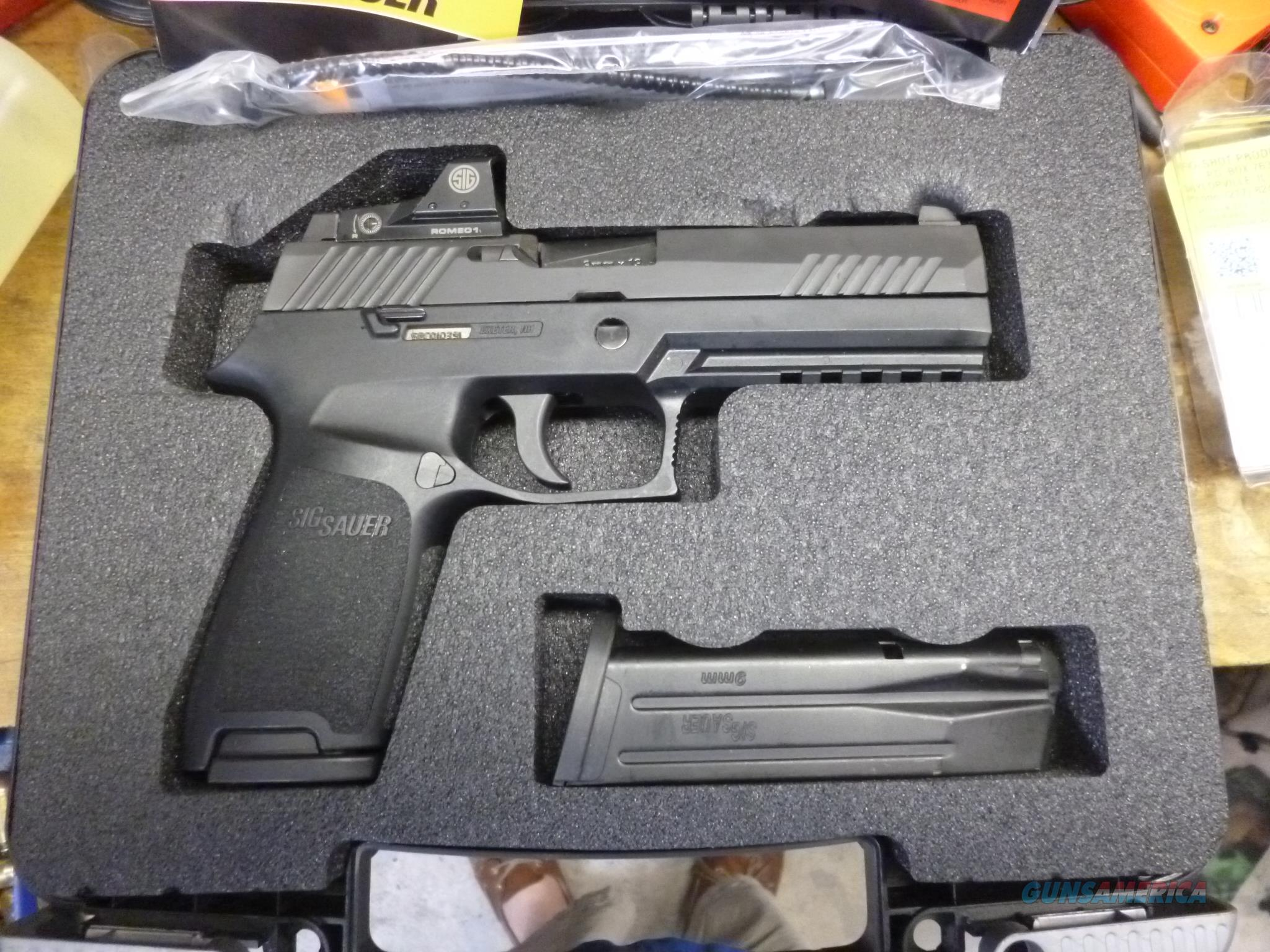 SIG P320 RX with Romeo Red Dot Sight