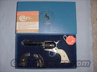 Engraved Colt Single Action Army 3rd Generation .45 Colt