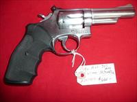 S&W  M- 66  357 mag  1975 mfg.  stainless steel