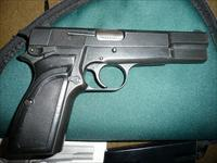 BROWNING HI-POWER BELGIUM MANUFACTURED IN 1988 MILITARY MODEL
