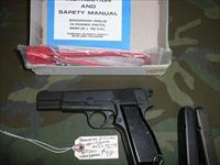 BROWNING/HI-POWER INGLIS-CANADIAN MILITARY/9MM. like new w/box,  2 mags