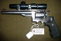 RUGER   REDHAWK STAINLESS   44 MAG  W/ SCOPE