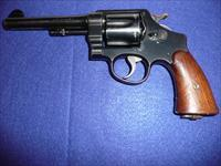 Smith & Wesson model 1917 DA .45 ACP revolver.