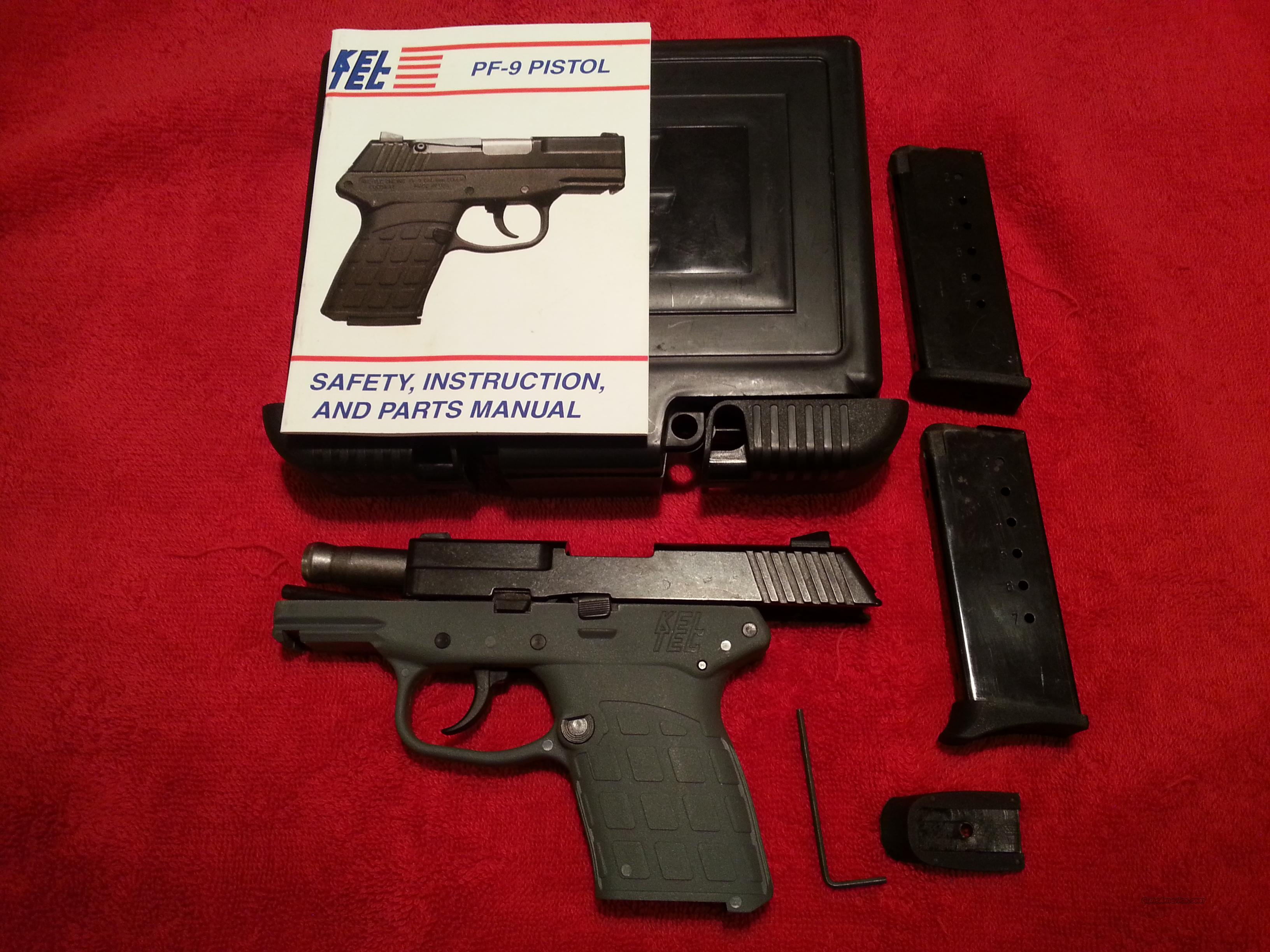 kel tec pf 9 kel tec pf9 keltec pf9 for sale rh gunsamerica com kel tec pf 9 instruction manual kel tec pf9 owners manual pdf