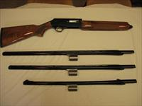 Browning B-80 NEVER FIRED, 12 Gauge with extra barrels