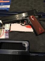 COLT 1991 38 SUPER -- Blued Steel Government Model --New Production