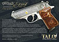 Walther PPK/S Ernst Engraved TALO Edition *ONE OF TWO HUNDRED*