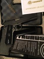 Taurus PT1911 Blue in box with 2, 8 round magazines SHIPS FREE