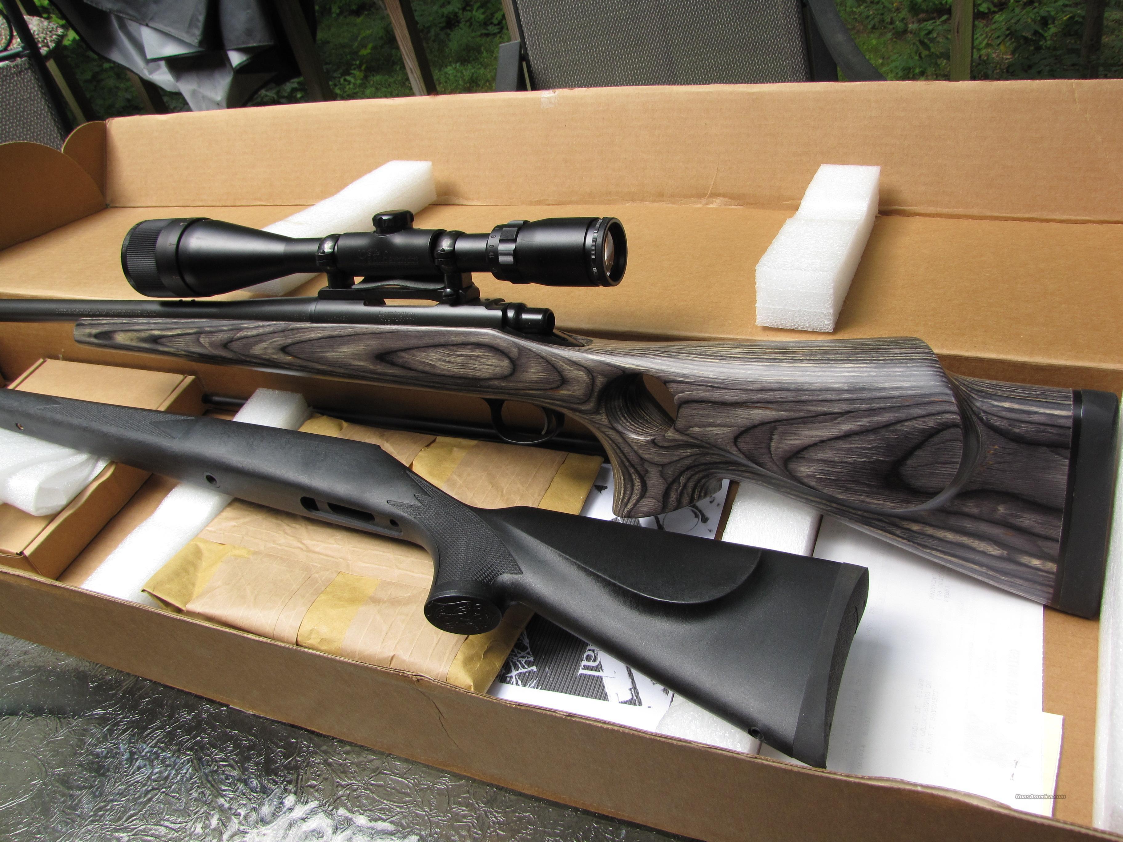 Remington 700 ML  50 Muzzleloader Custom Shop NIB