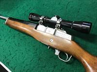 Ruger Mini-14, Ranch Rifle SS, Police Trade In w Leupold Scope