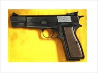 "BROWNING HI POWER 9MM 4 3/4"" BBL BELGIUM"