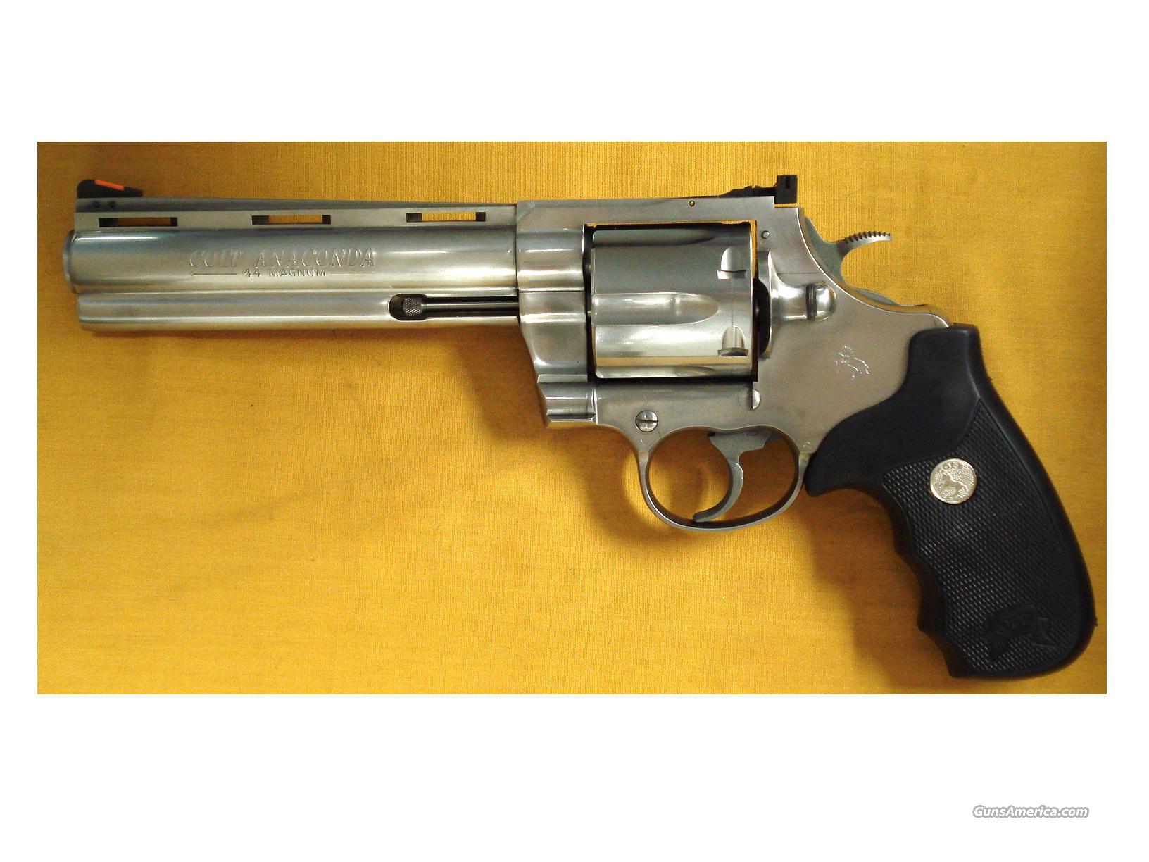 COLT ANACONDA BRUSHED STAINLESS  44 MAG for sale