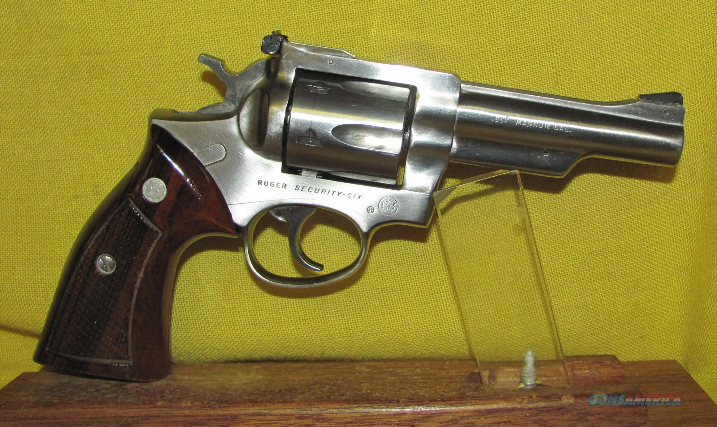 ruger security six serial number