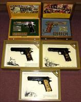 COLT 1911 WWI &WWII COMM. 5 GUNS NEW OLD STOCK (43)(44)(45)(46)(47)