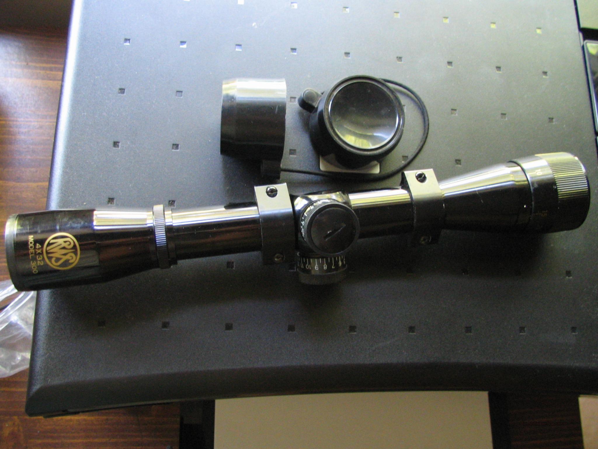 Amazon.com : RWS Model 34 P .22 Air Gun Combo 4X32 Scope-Black ...