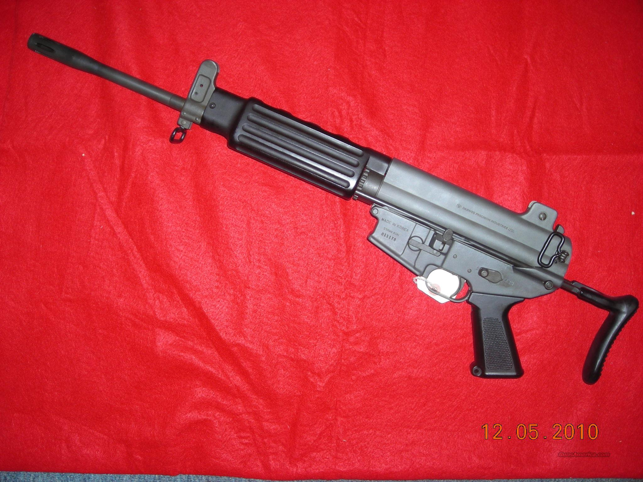 DAEWOO K1A1 223/556 CAL for sale