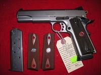 RUGER SR1911 STAINLESS 45 ACP