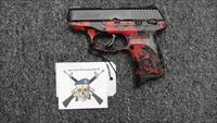 Ruger LC9s Red Digital Camo 9mm