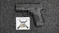 "Springfield Armory XDS-9 w/one 7 rd. mag, one 8 rd. mags., 3.3"" bbl. Grey Frame--used"