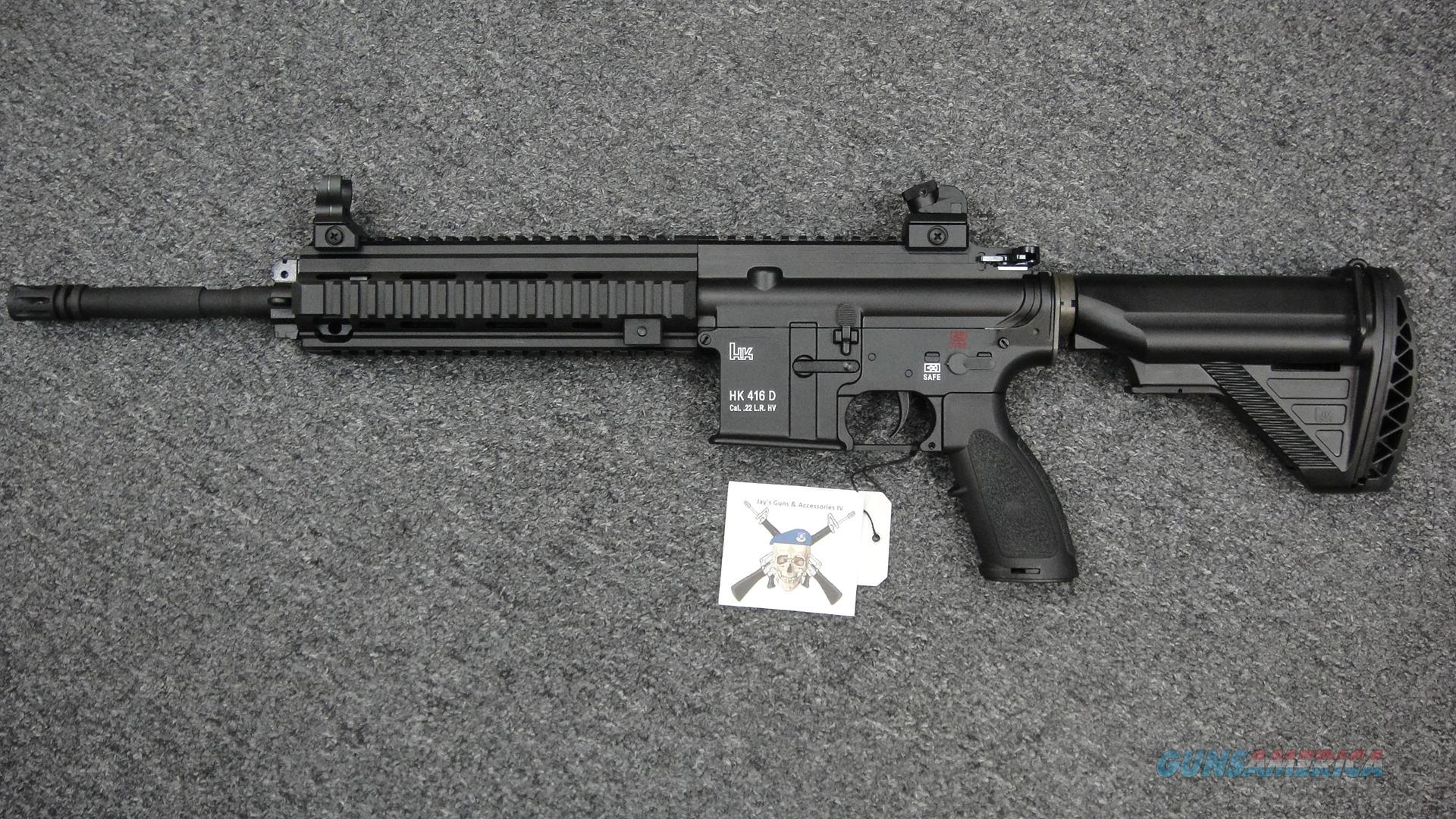 Heckler & Koch HK416D  22LR