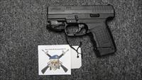 Walther PPS Classic .40S&W w/CTC Railmaster laser--used