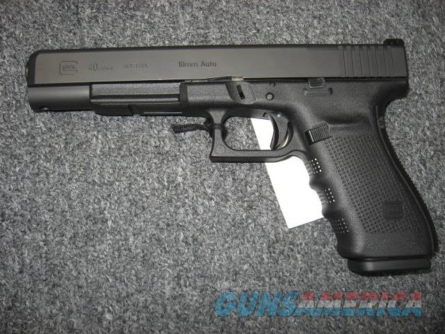 Glock 40 Gen 4 10mm Mos For Sale
