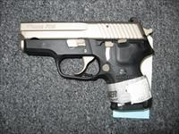 Sig Sauer P224 .40S&W Nickel Slide w/ Night Sights