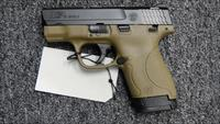 Smith & Wesson M&P40 Shield FDE with safety