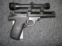 used S&W 22A-1 w/ Bushnell Phantom 1.3X scope