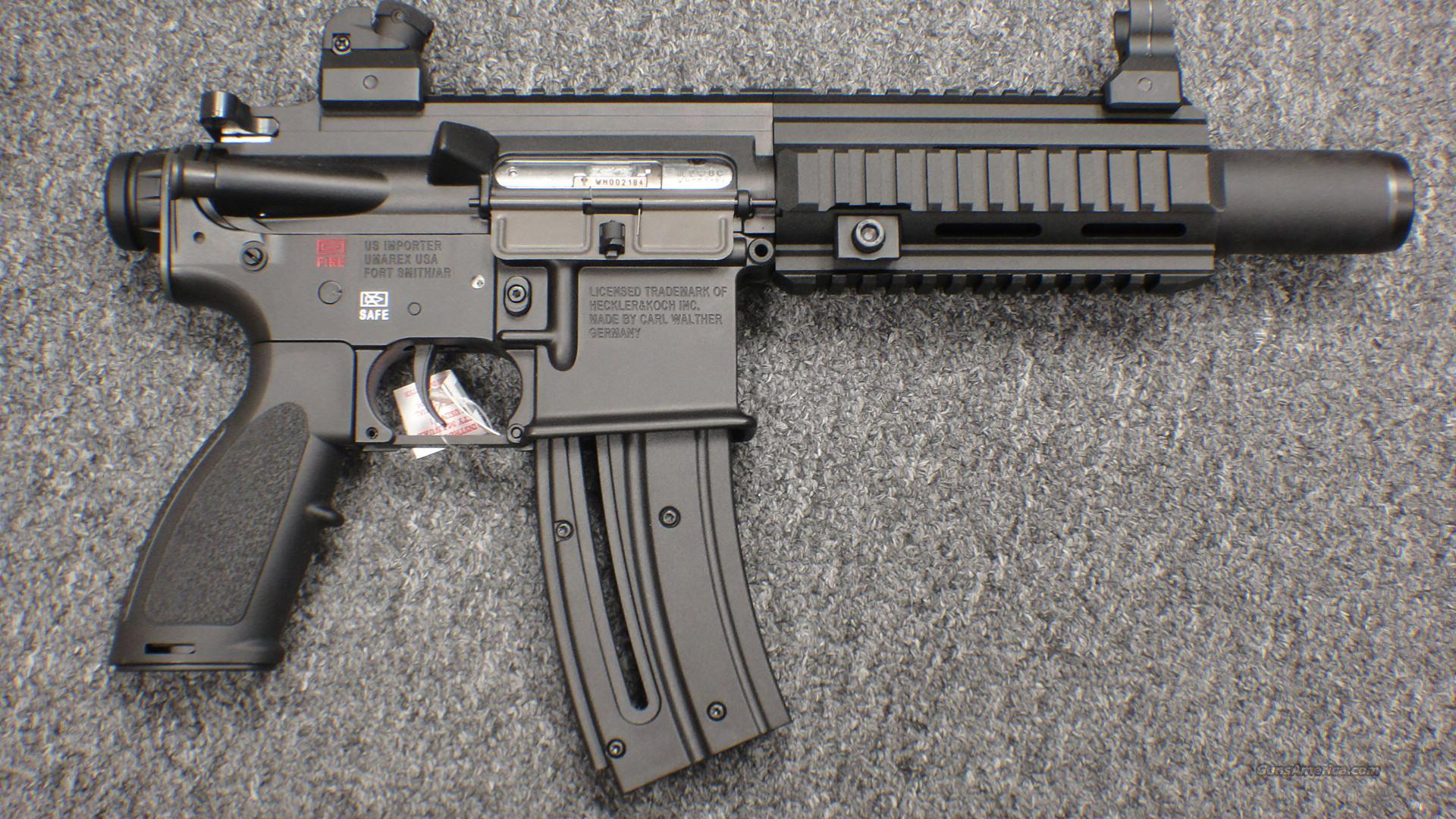 Heckler and Koch HK 416 in  22lr
