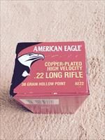 4000 rounds American Eagle Copper-Plated .22 long rifle 38 grain hollowpoint