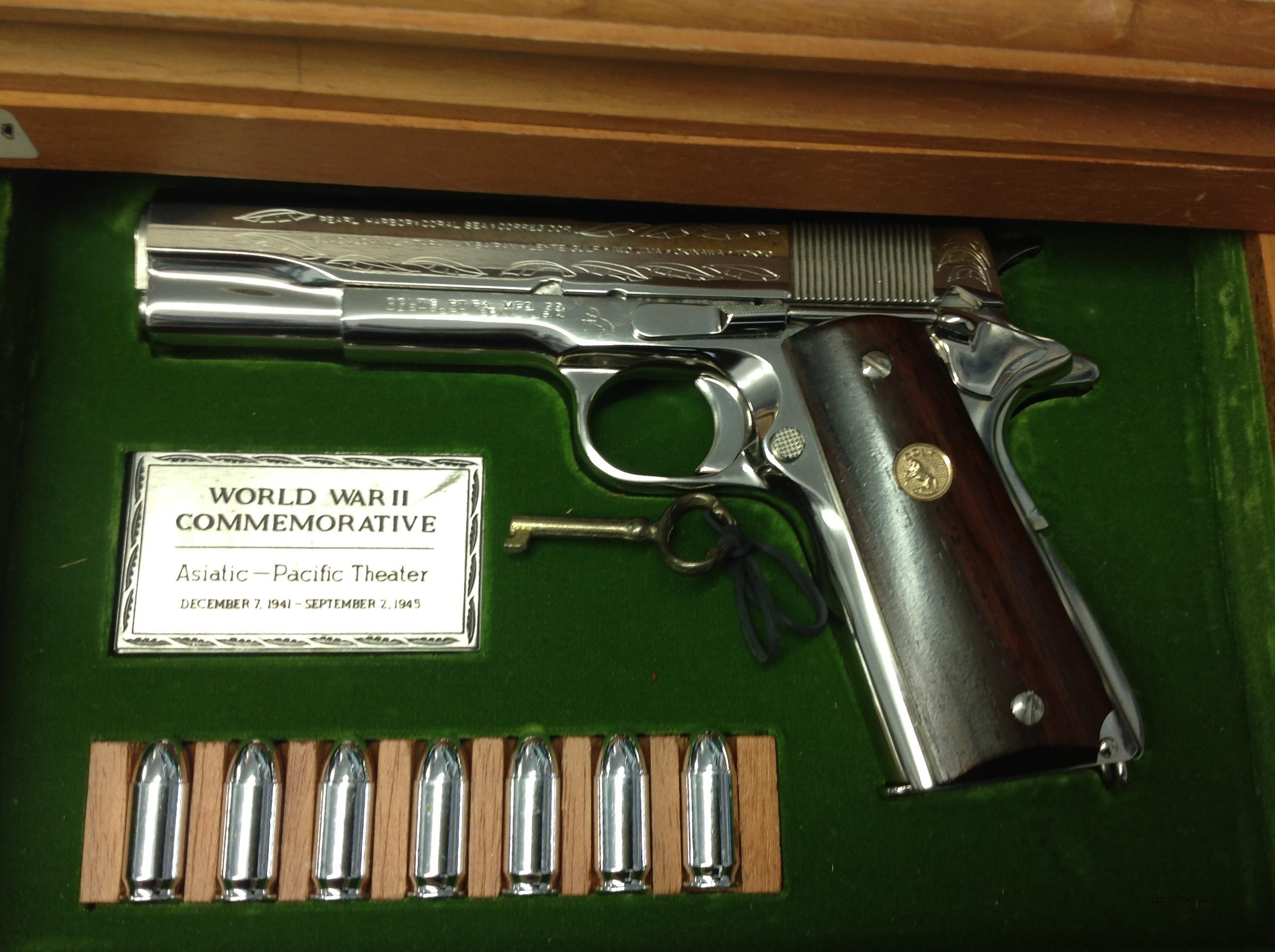 A1 Auto Sales >> Colt World War II Commemorative Asiatic - Pacif... for sale