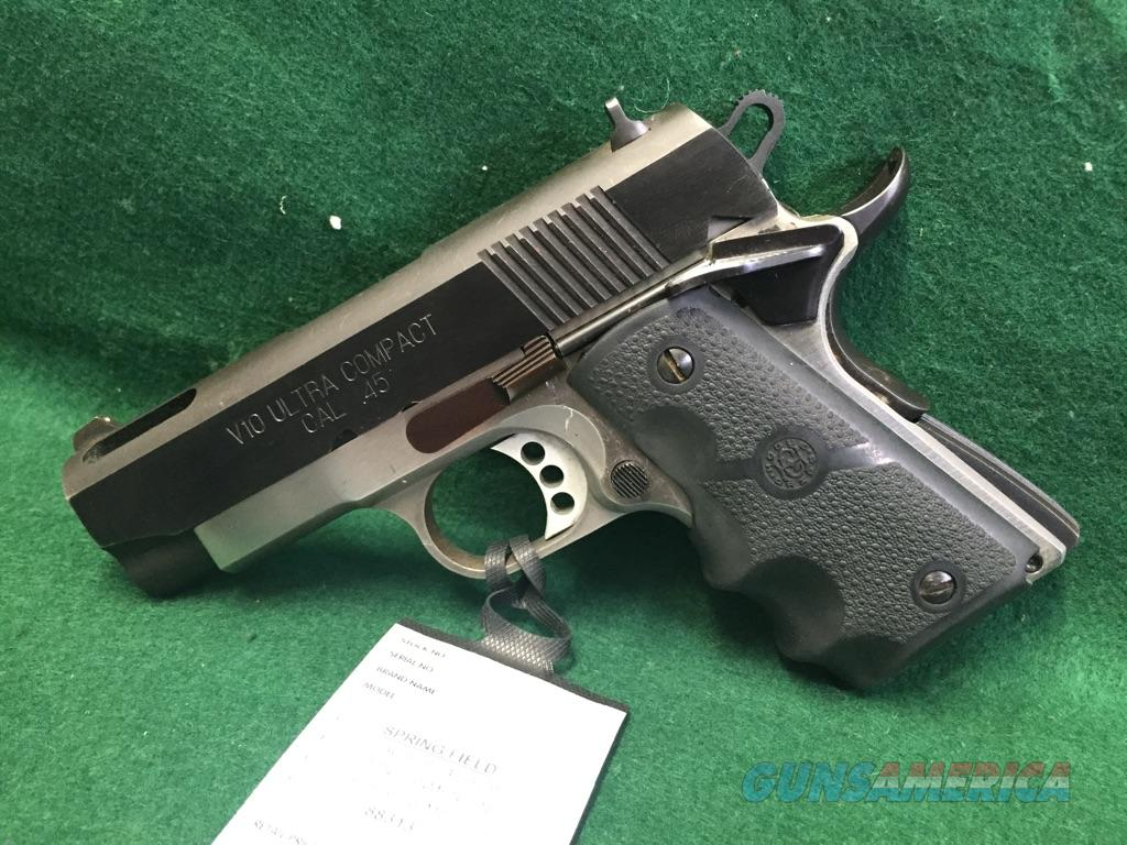 Springfield Armory 1911 V10 Ultra Compact For Sale